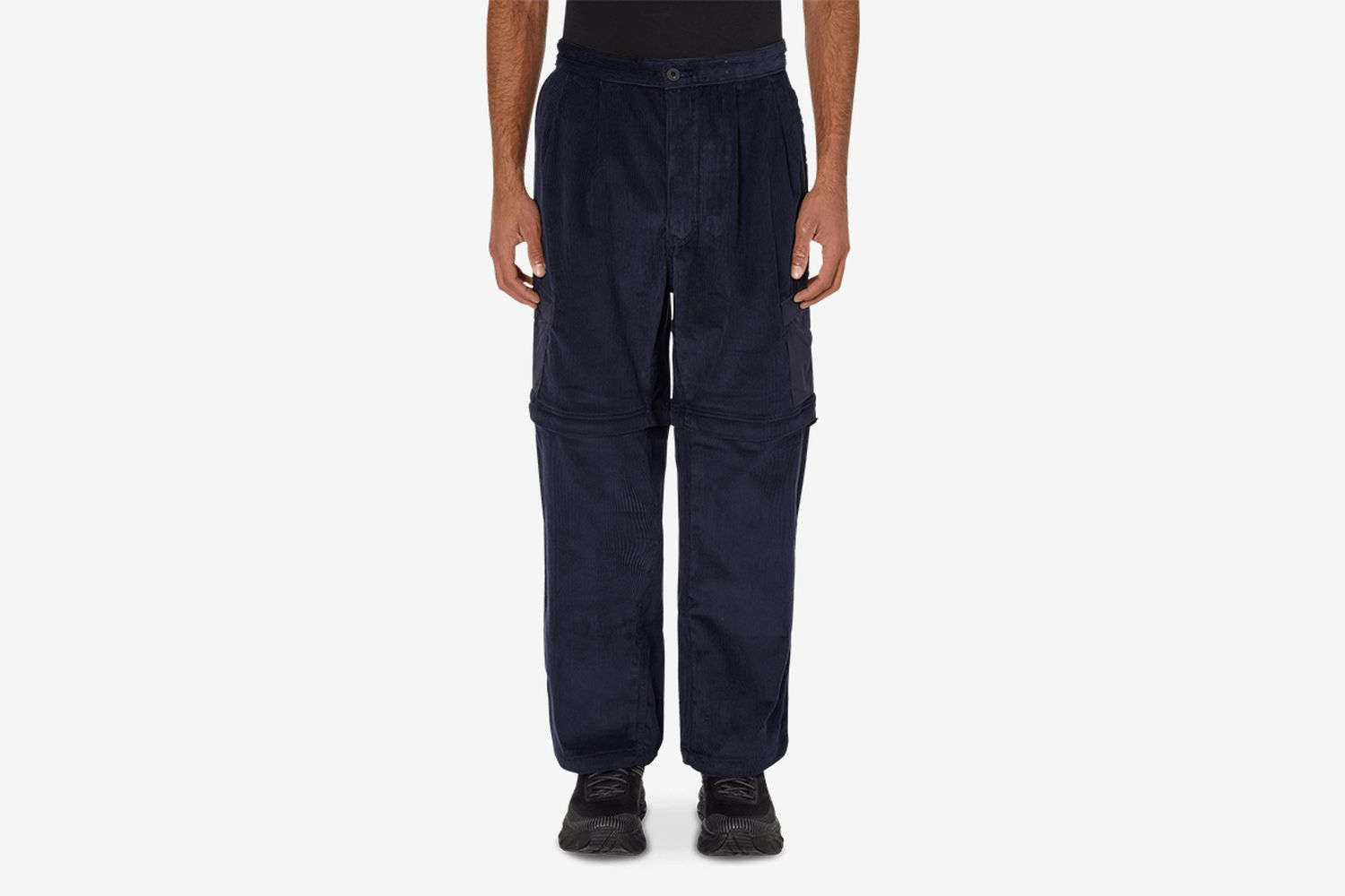 Tier One Convertible Corduroy Zip Off Pants