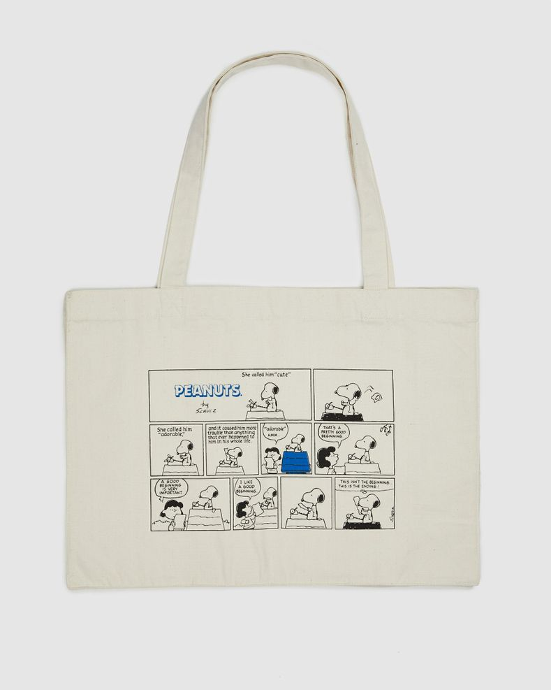 Colette Mon Amour x Soulland -  Snoopy Comics White Totebag