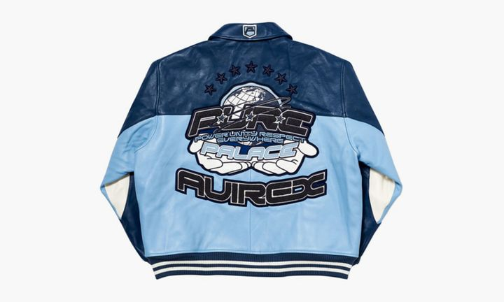 Palace x Avirex Jacket Blue