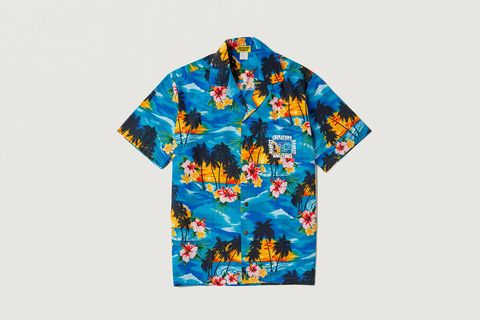 Smiley Hawaiian Shirt