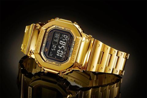 g shock 18k gold watch casio g-shock