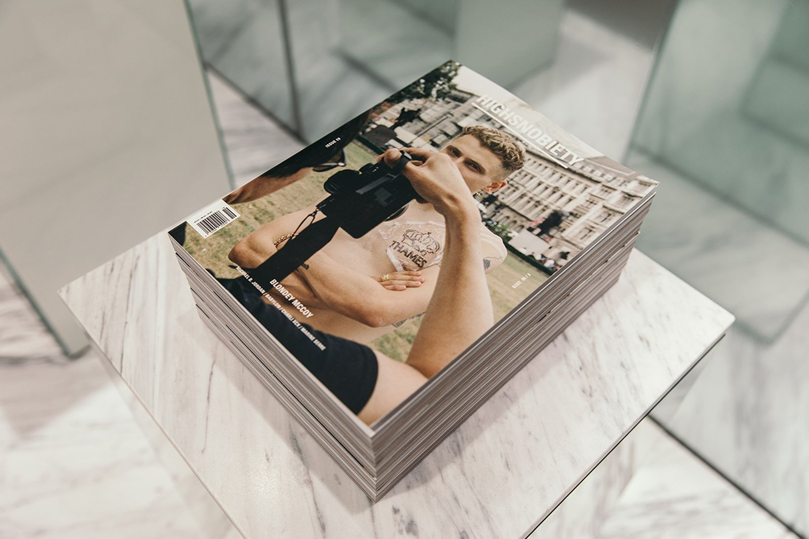 hs19 mag launch blondey london blondey mccoy highsnobiety issue 19