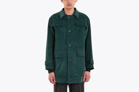 Ying Yang Corduroy Coat