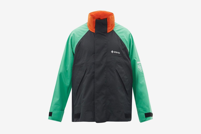 Colour-Block Shell Jacket