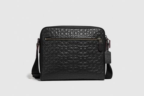 Metropolitan Camera Bag In Signature Leather