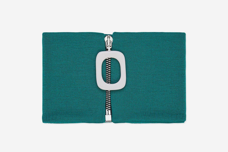 Green Wool Neckband