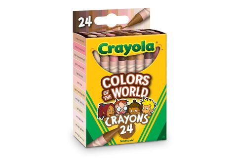 crayola 'Colors of the world' crayons