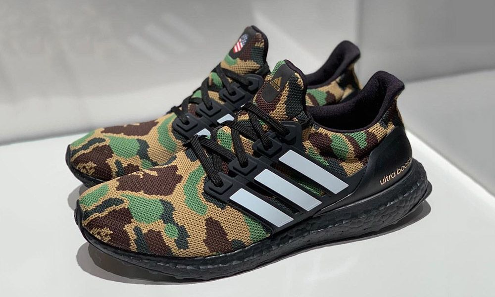 best sneakers 5dac8 f9121 BAPE x adidas Originals Ultra Boost Where to Buy Today