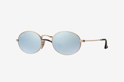 Oval Flat Lenses