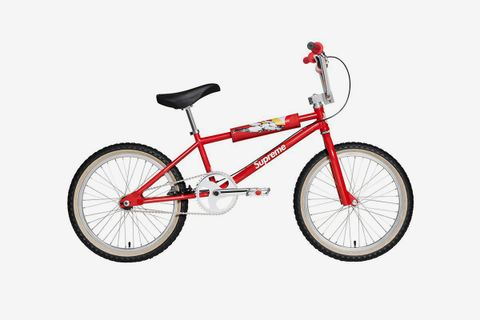 red supreme box bike