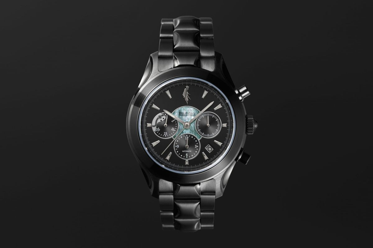 Square Enix Taps Seiko for Limited-Edition 'Final Fantasy VII' Watch Collab