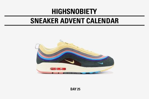 highsnobiety advent calendar day 25 main Sean Wotherspoon nike air max 1/97