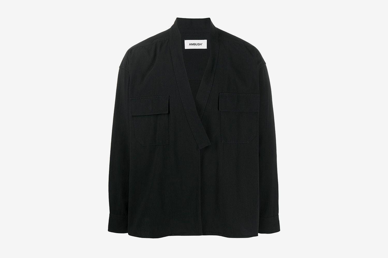 Wrap-Style Shirt