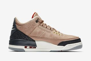 "buy popular 40de6 f7136 Justin Timberlake x Air Jordan 3 ""Bio Beige"": Where to Buy Today"