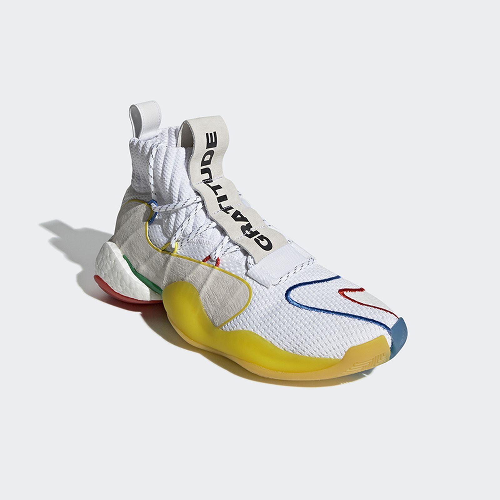 pharrell adidas crazy byw lvl x gratitude empathy white release date price