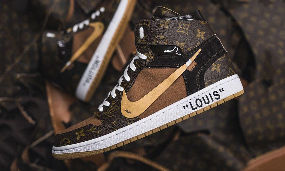 Todavía ruido comercio  These Louis Vuitton OFF–WHITE x Nike Air Jordan 1s Are Next Level