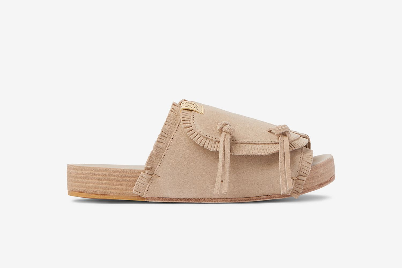 Christo Shaman-Folk Fringed Suede Sandals