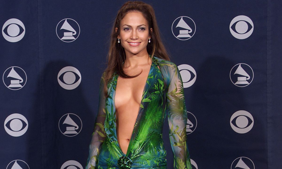 Jennifer Lopez Tells the Story of Her Iconic Green Versace Dress