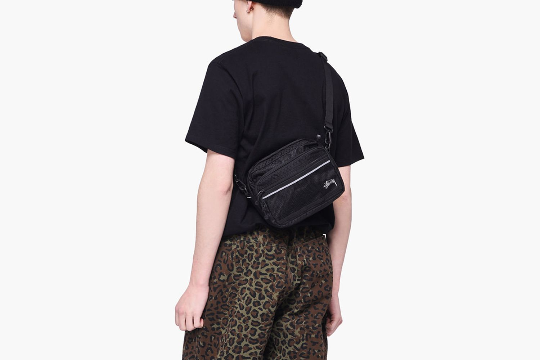 Diamond Ripstop Shoulder Bag