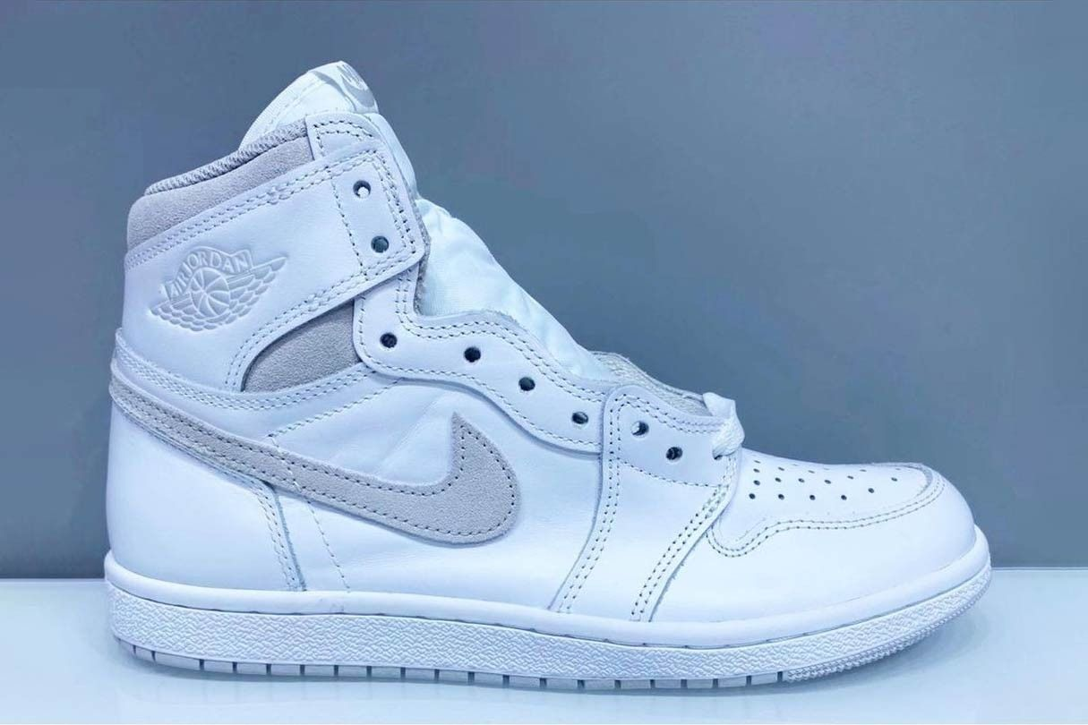 """Air Jordan 1 Hi '85 """"Neutral Grey"""" Might Be Retroed for the First Time Ever 3"""
