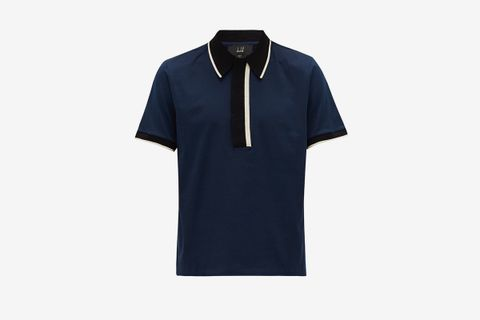 Deco Mercerised Cotton-Jersey Polo Shirt