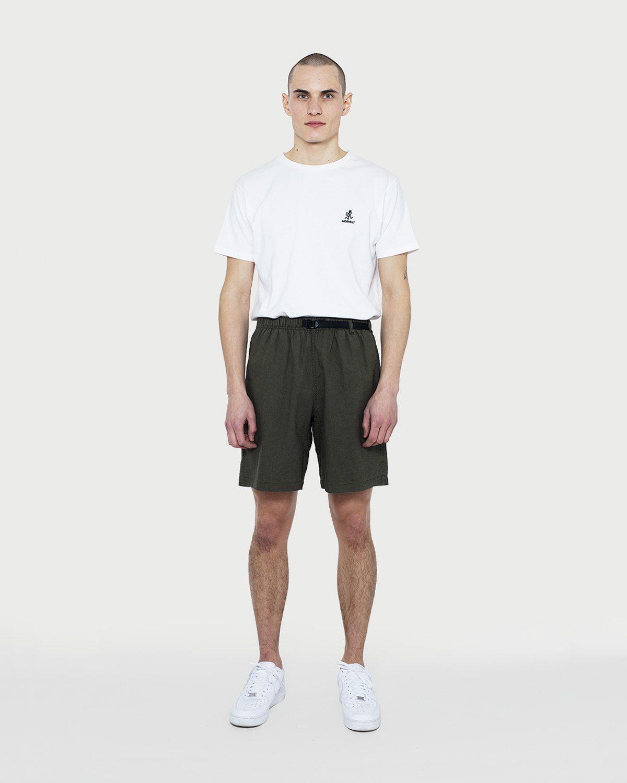 Gramicci — Linen Cotton G-Shorts Olive - Image 1