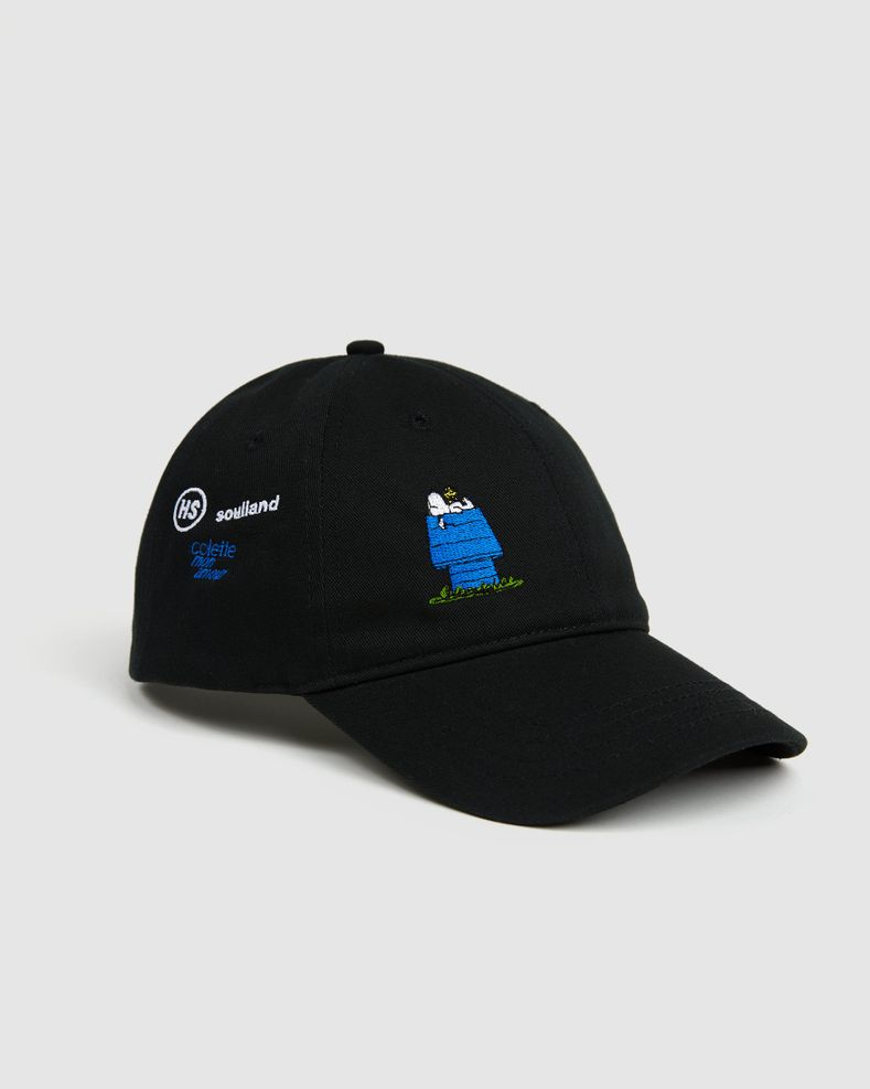 Colette Mon Amour x Soulland -  Snoopy Bed Black Baseball Cap