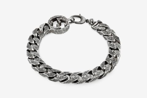 Interlocking-G Curb Chain Bracelet