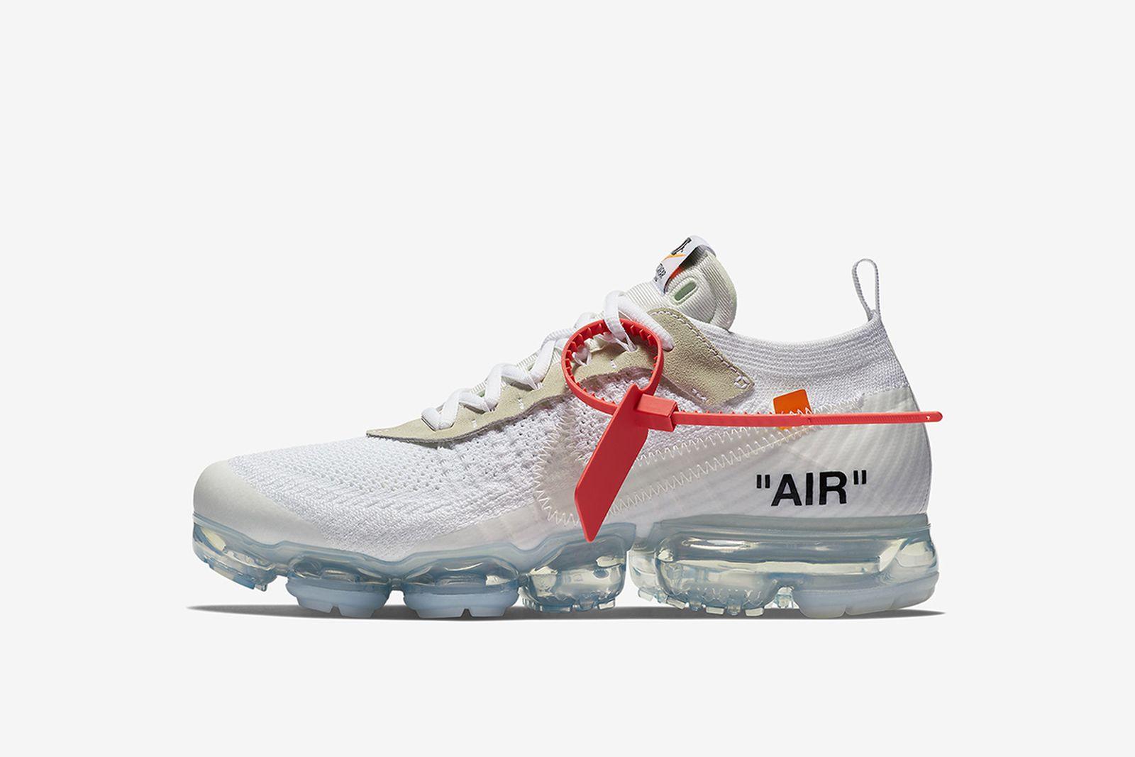 vapormax grey GOAT Nike The Ten OFF-WHITE c/o Virgil Abloh