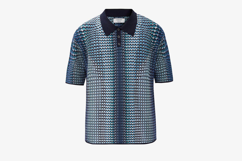 Crescent Moon Polo Shirt