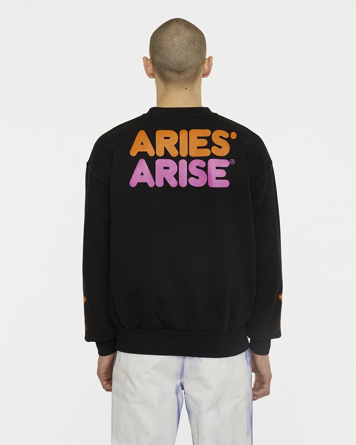 Aries - Fast Food Sweatshirt Black - Image 3