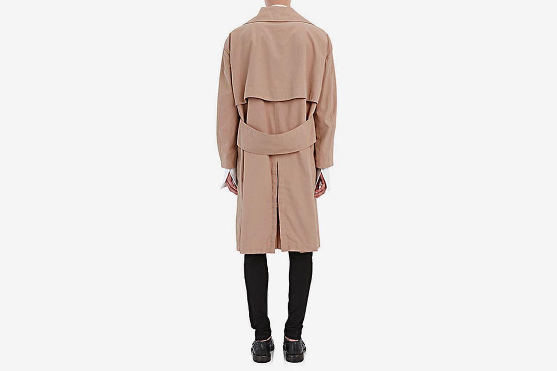 Tropical Cotton Gabardine Coat