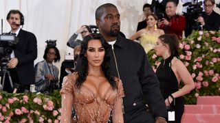 The 2019 Met Gala Celebrating Camp: Notes On Fashion Arrivals Met Gala 2019 kanye west kim kardashian