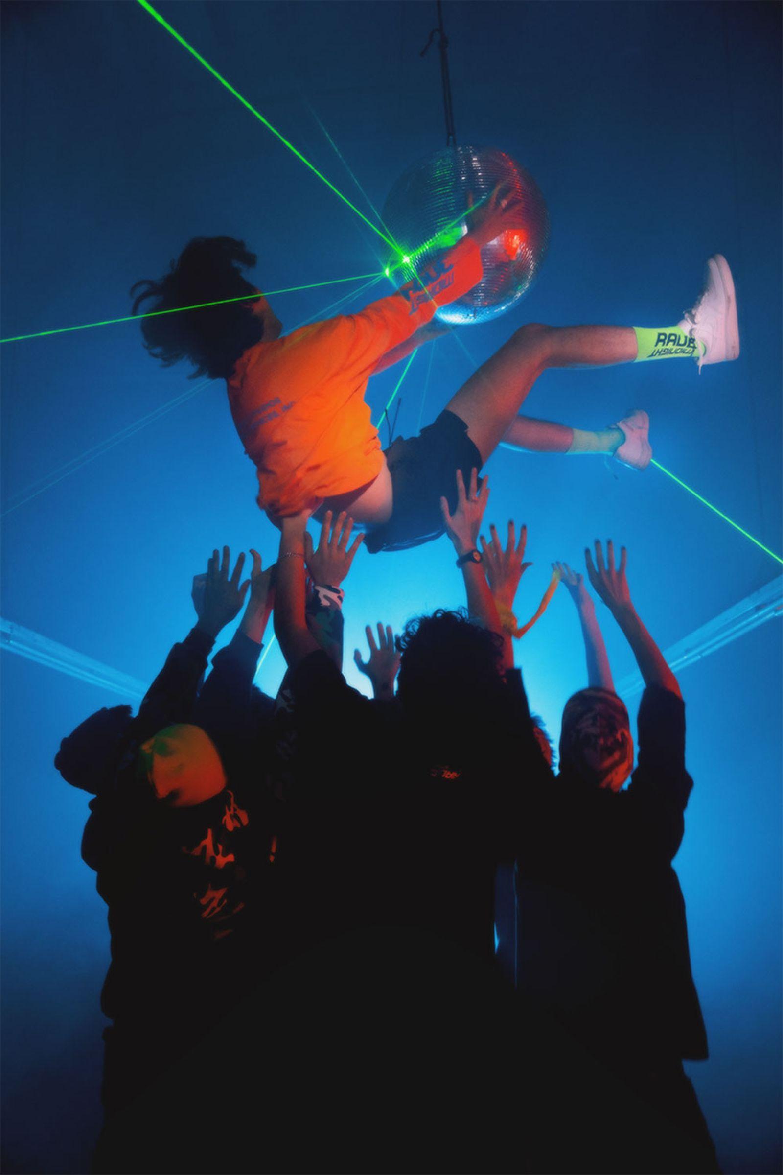 asap rocky awge midnight studios 90s midnight rave lookbook A$AP Rocky