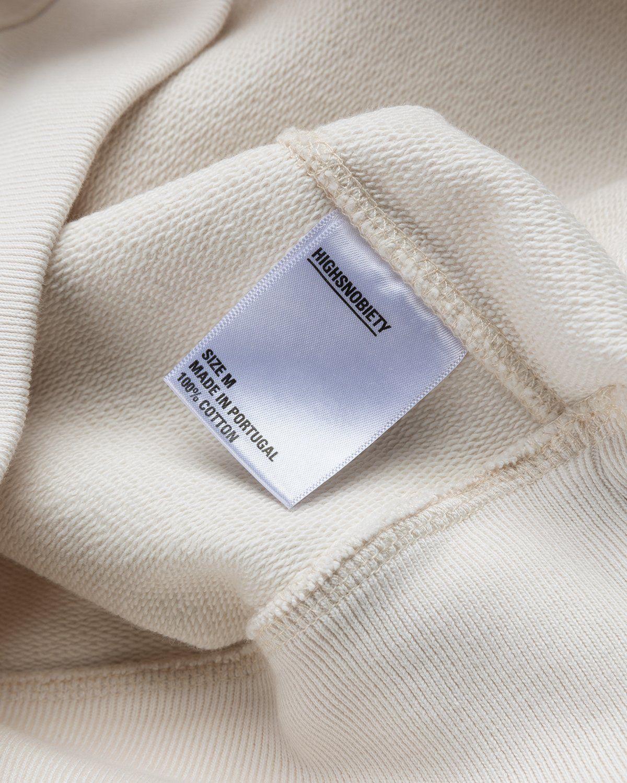 Highsnobiety – Logo Hoodie Natural - Image 6