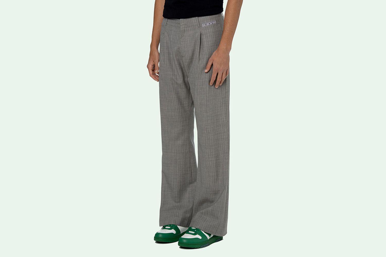 Check Formal Pants