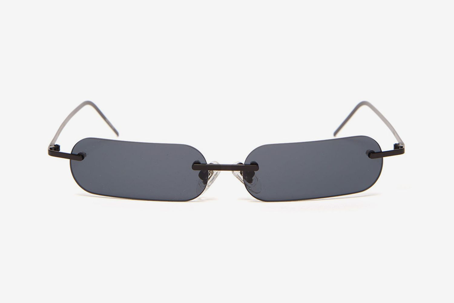Bly X FR Rectangular Metal Sunglasses