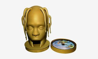 Travis Scott Releases Deluxe Version of 'Astroworld' & a Mask