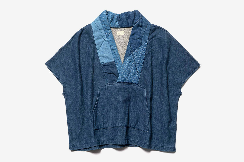 IDG Fleecy Knit Baja Samu Pullover (Pojagi Remake)