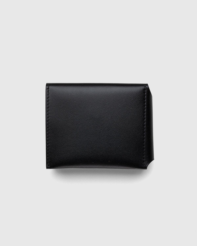 Acne Studios – Trifold Wallet Black - Image 2
