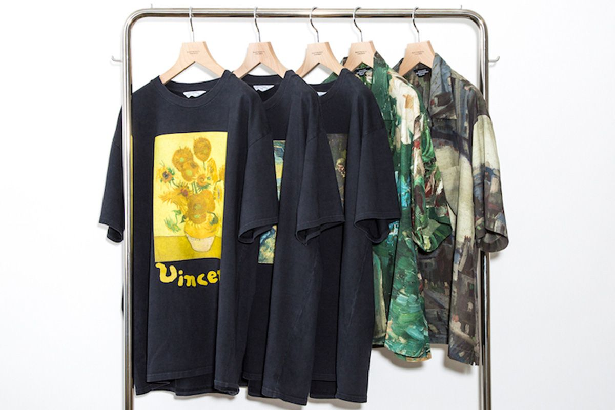 UNUSED Drops Van Gogh Museum Collab for SS19