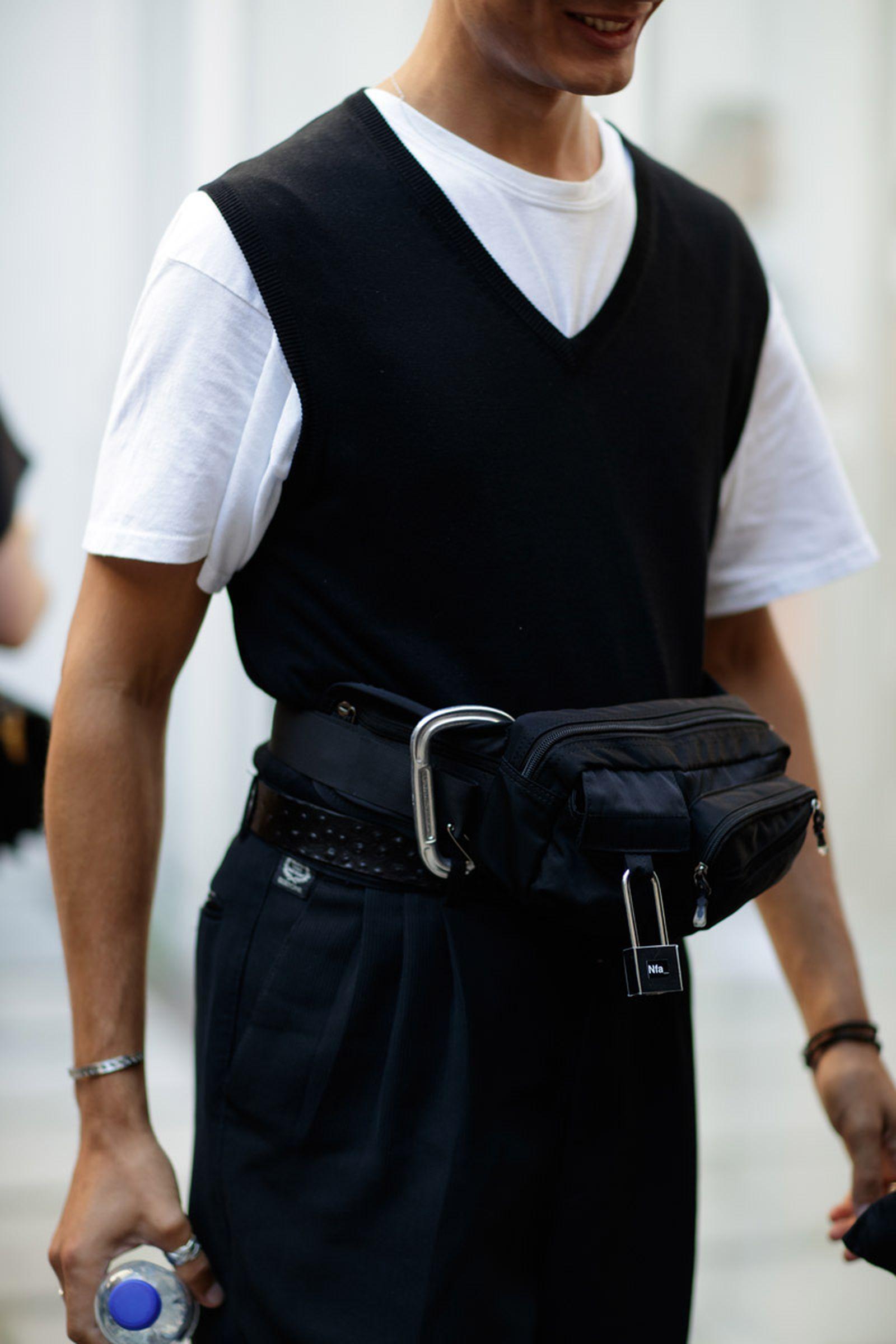 copenhagen street style bags3 Copenhagen Fashion Week Nike Supreme