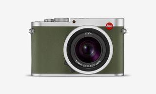 "Leica Launches $4,995 Limited Edition Q ""Khaki"" Camera"