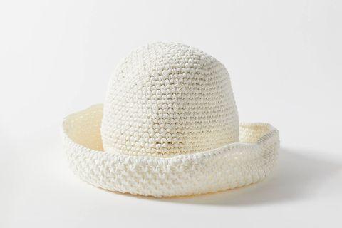 Bondi Rolled Crochet Bucket Hat