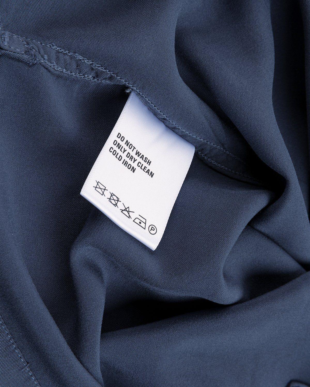 Highsnobiety – Bowling Shirt Navy - Image 6