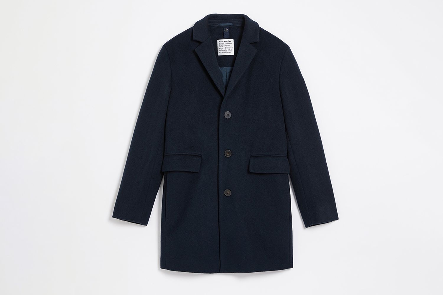 The Lawrence Recycled Wool Topcoat