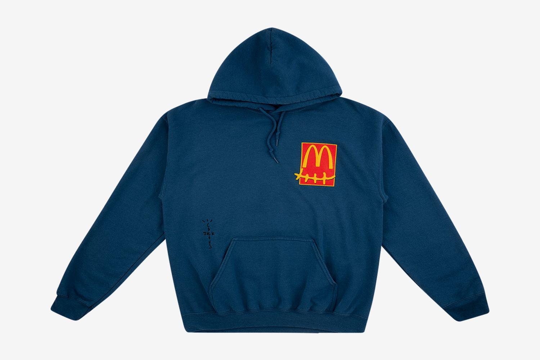 "Cactus Pack Sticker Hoodie ""Travis Scott x McDonald's"""""