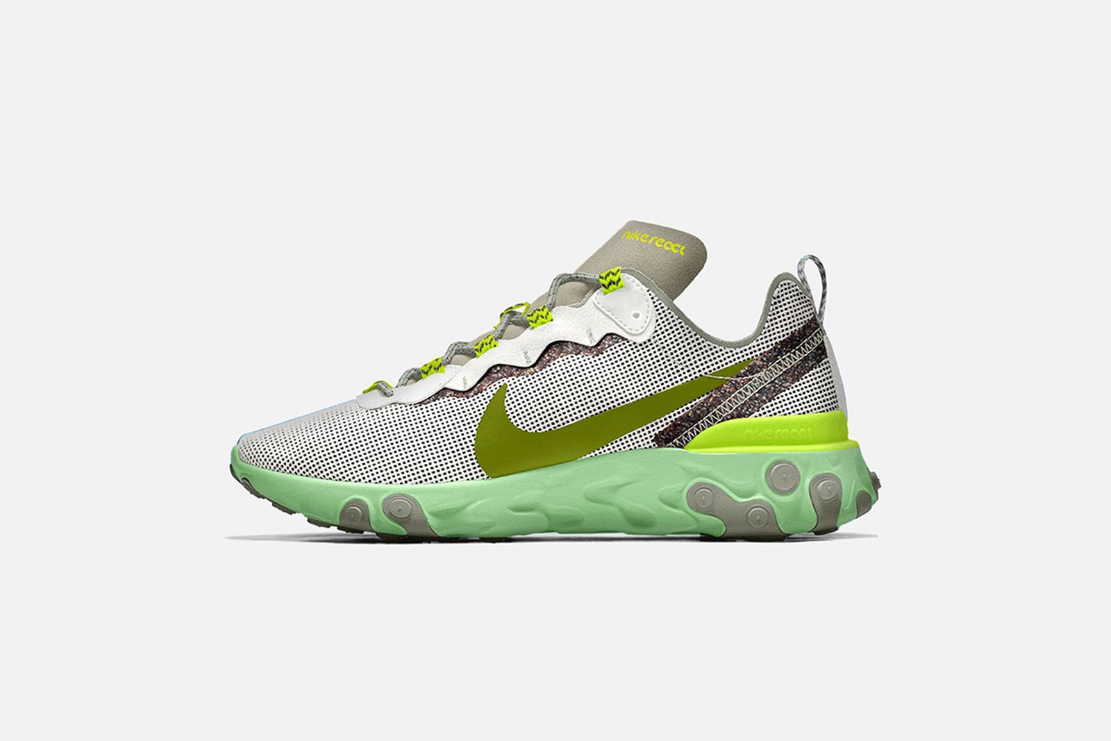 nike react element 55 by you release date Nike By You