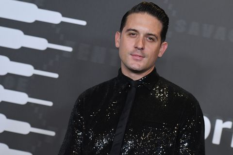 G-Eazy arrives for the Savage X Fenty Show