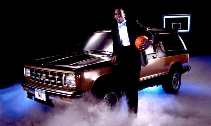 Michael Jordan Chevrolet Suburban
